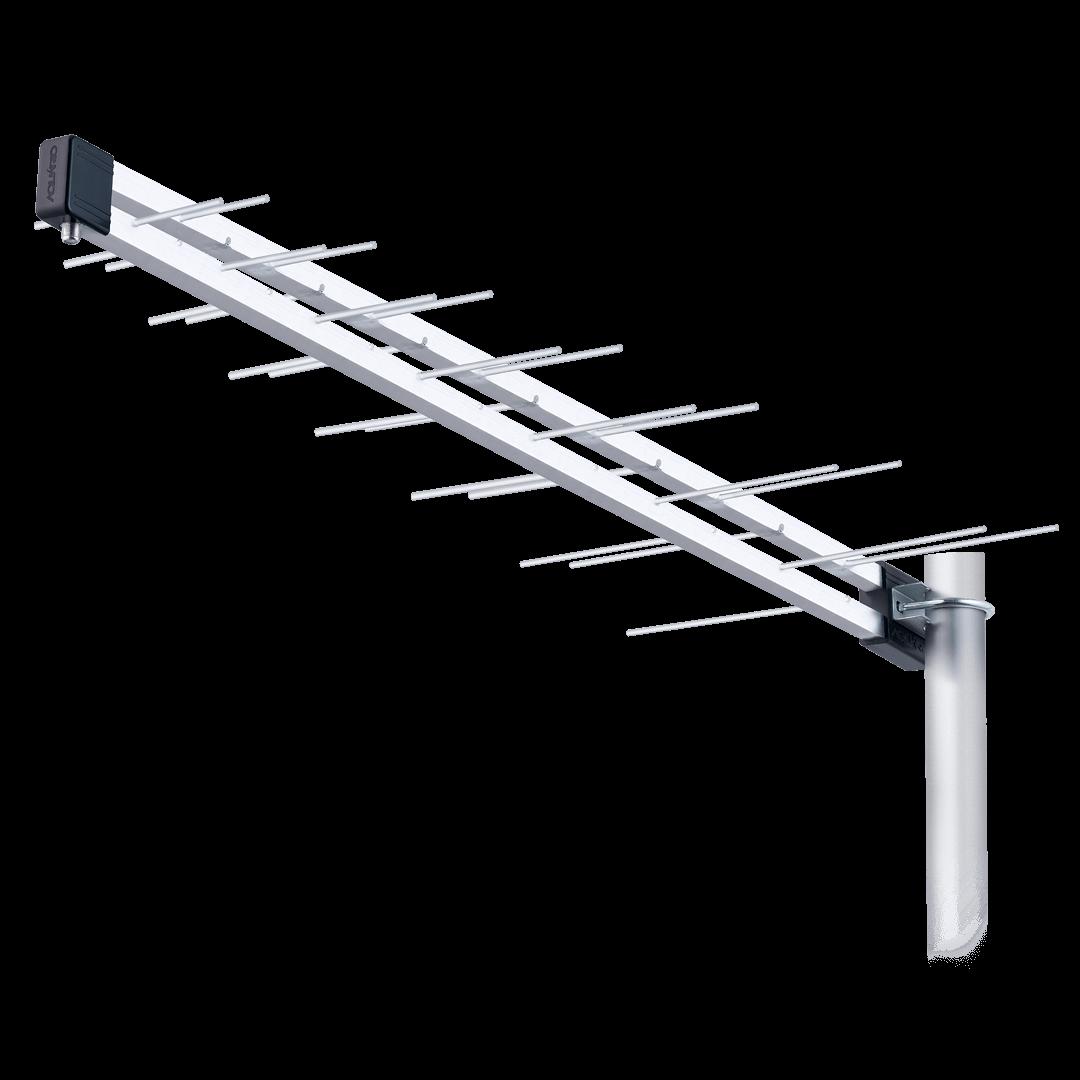 Antena Externa Log UHF e HDTV POP LU-14P