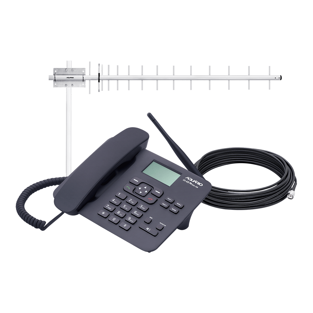 Celular Rural 800MHz DUAL CHIP - CA-802