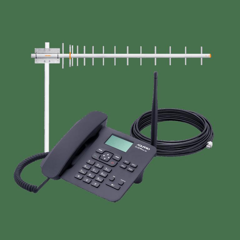 Celular rural 900mhz dual chip CA-902