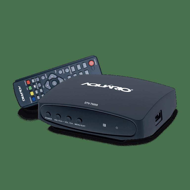Conversor gravador digital full hd aquario DTV-7000S