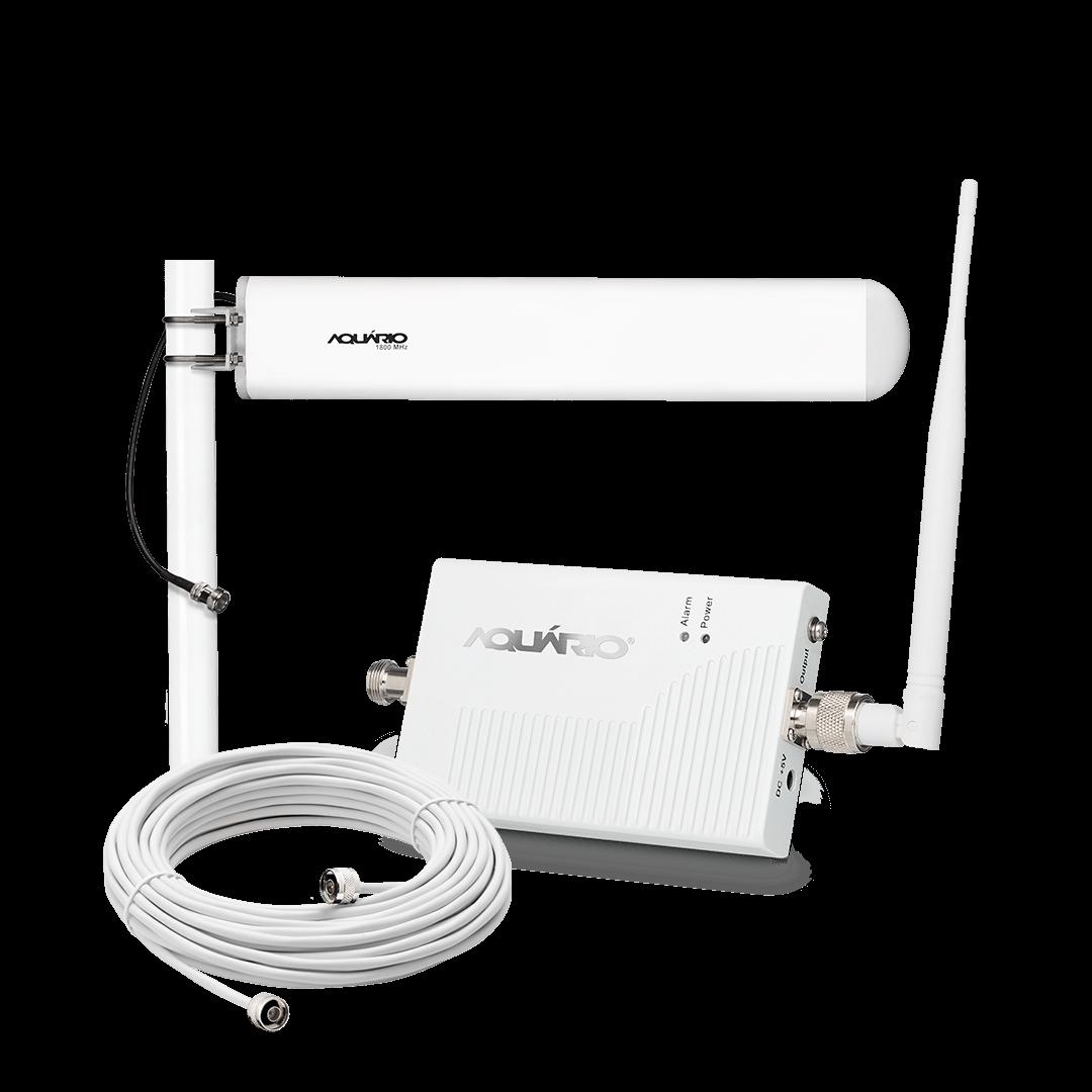 Repetidor amplificador de sinal celular 1800mhz 60db SC MRP RP-1860