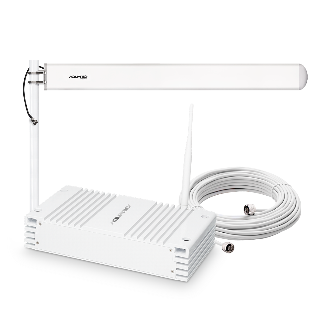 Repetidor amplificador de sinal celular 2100mhz 70db SC MRP RP-2170