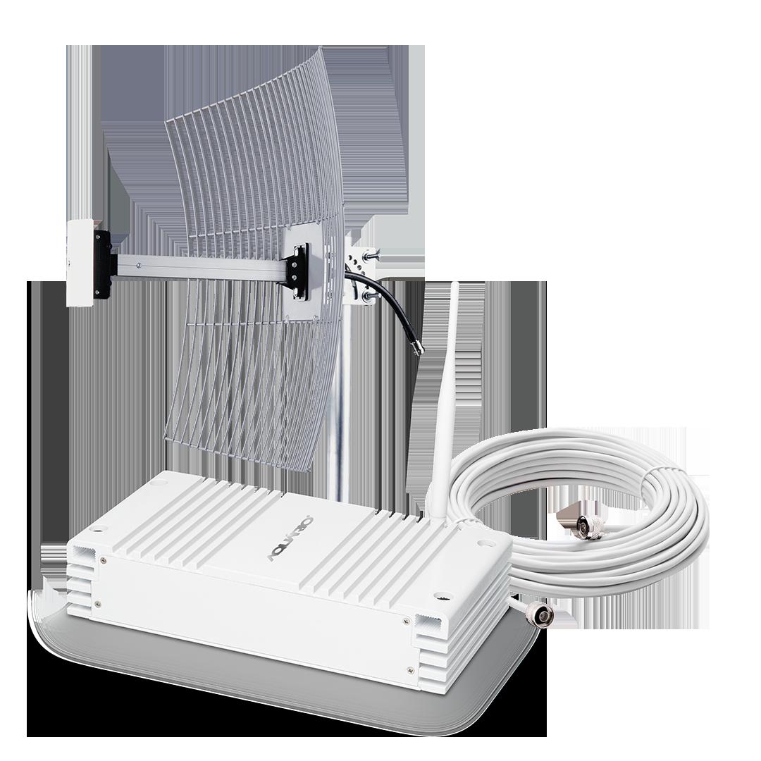 Repetidor amplificador de sinal celular 2600mhz 70db 4G SC MRP RP-2670