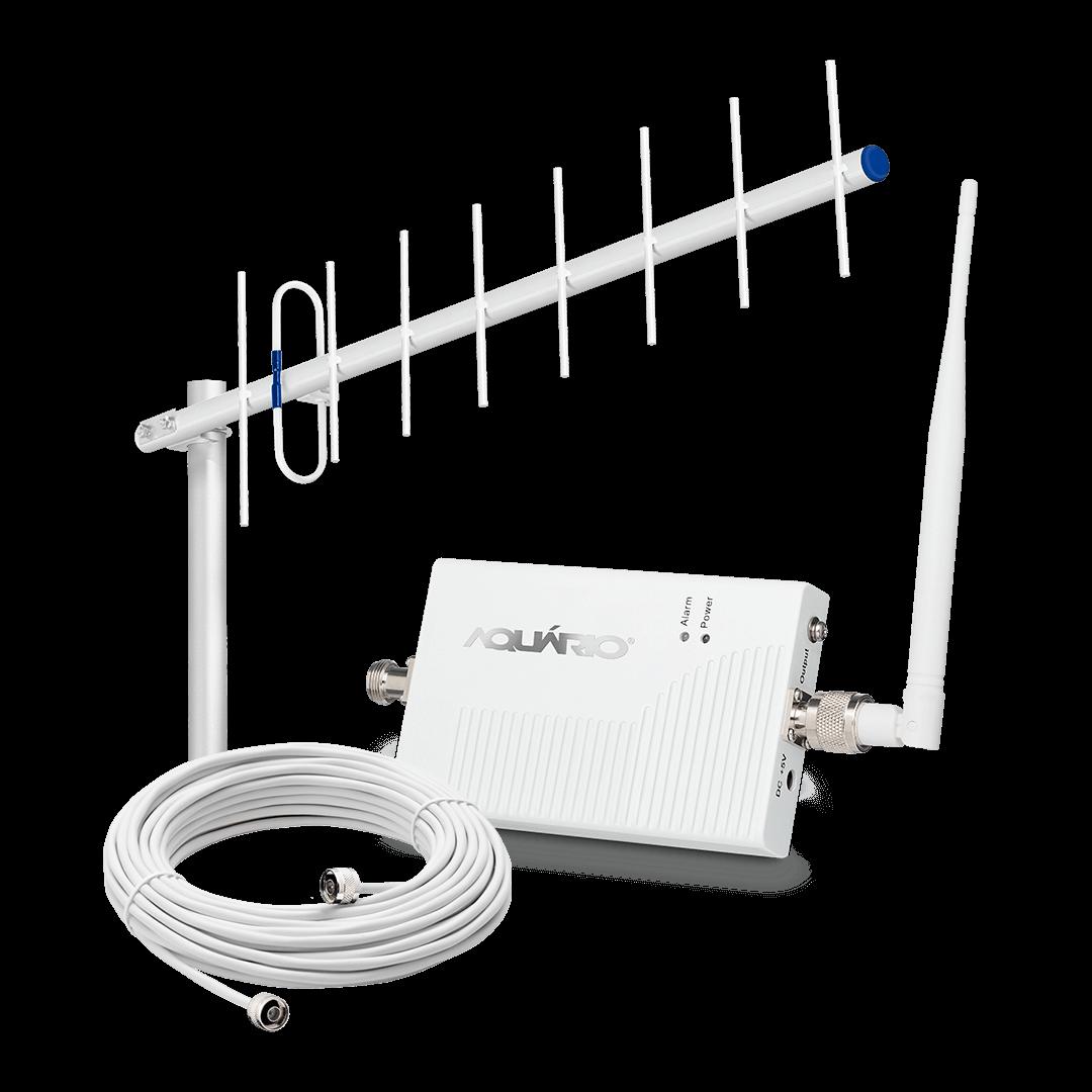 Repetidor amplificador de sinal celular 700mhz 60db 4G SC MR RP-0760