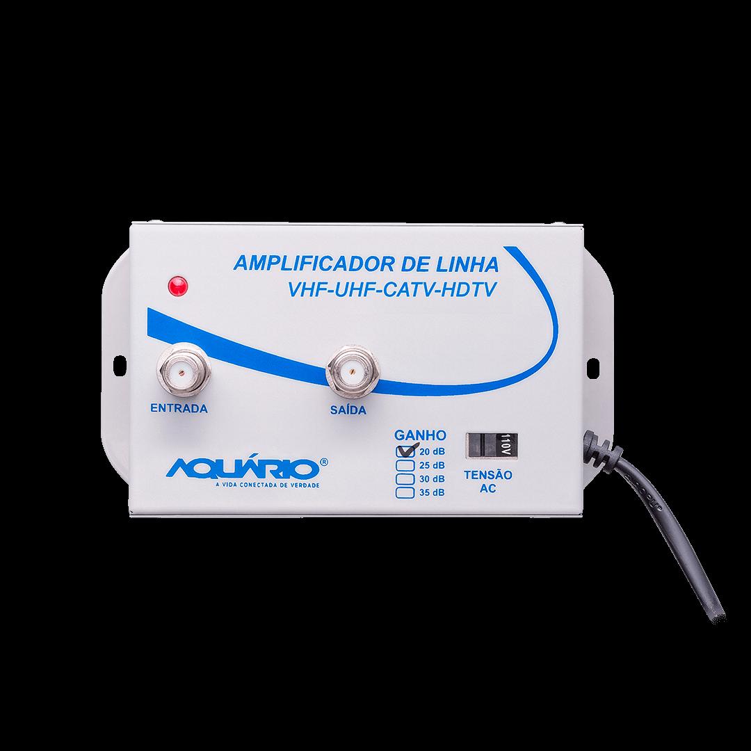 Amplificador de linha para TV 20db AL-20