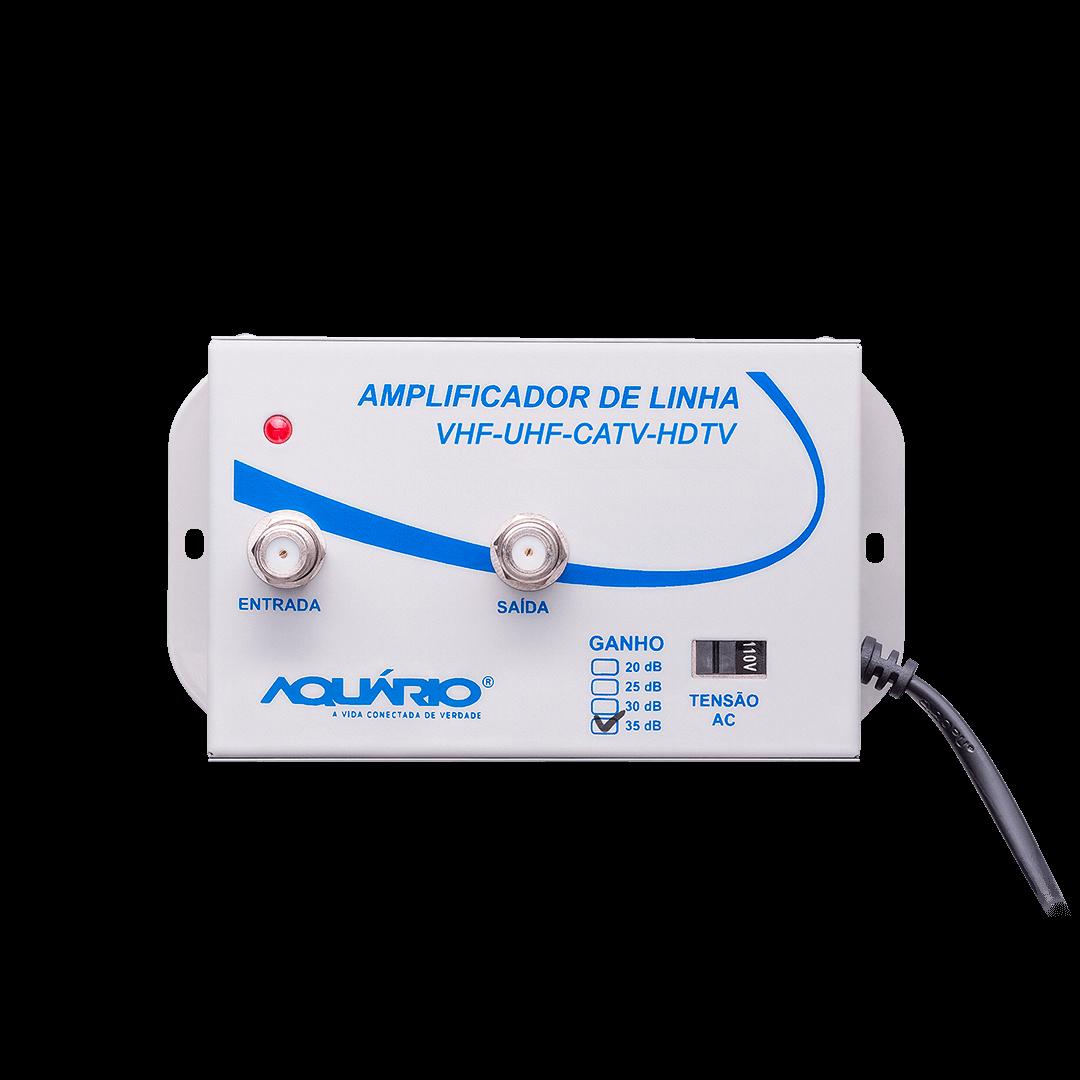 Amplificador de linha para TV 35db AL-35