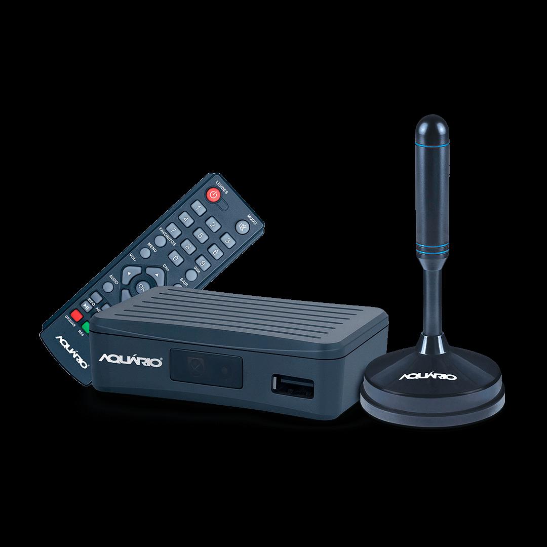 DTV-4100 Conversor digital antena interna dtv-100 kit completo foto1