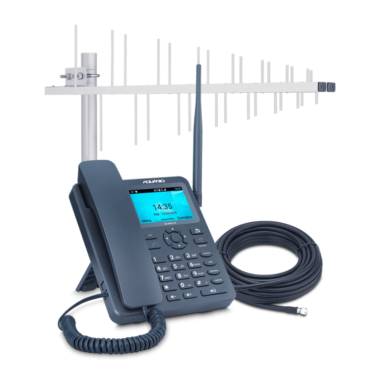 Celular rural de longo alacnce 4G com Wi-fi